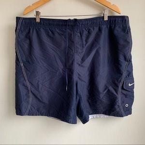 Nike blue board shorts size XL EUC
